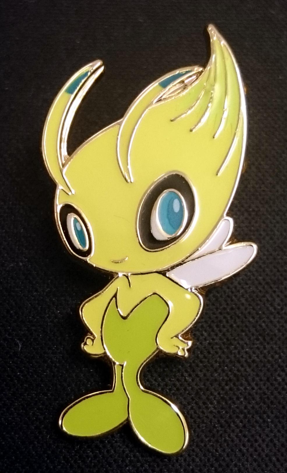 Celebi Pin - Mythical Celebi Collection Exclusive