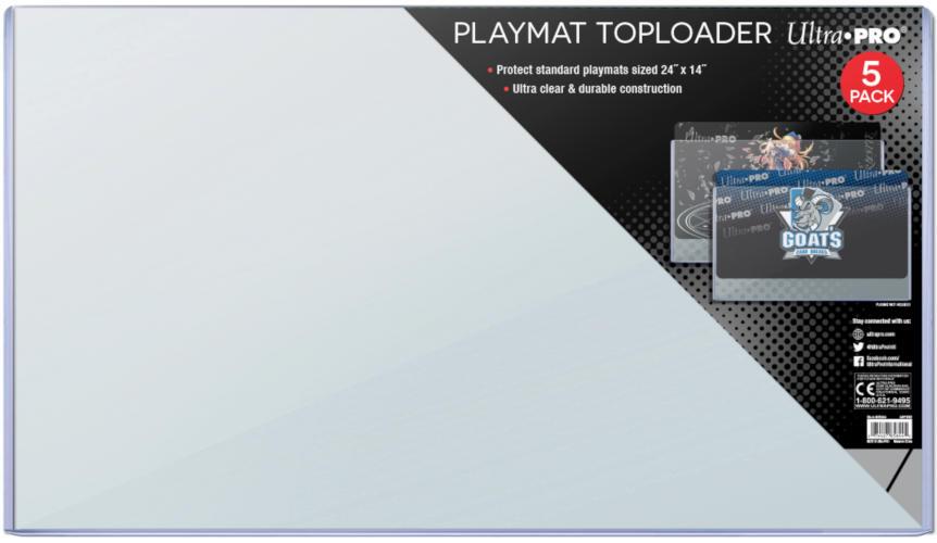24 x 14 Ultra Pro Playmat Toploader 5ct