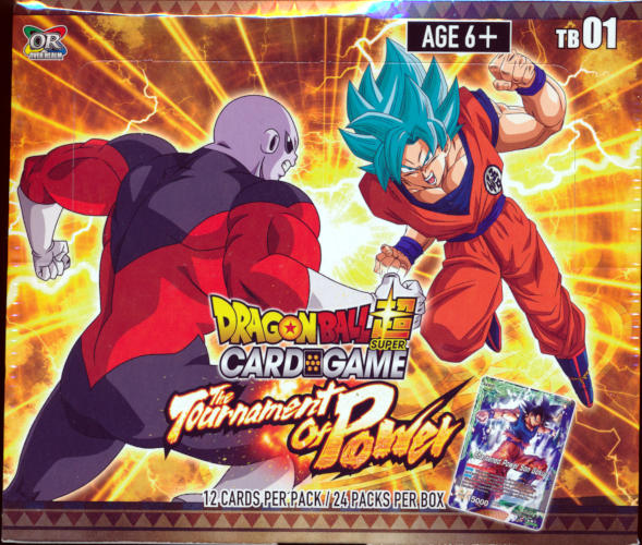 DBS Dragon Ball Z Super Card Game CCG Tournament Kit vol 4 Sealed