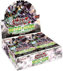 Yu-Gi-Oh Battles of Legend: Hero's Revenge 1st Edition Booster Box
