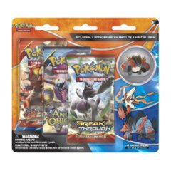 Pokemon XY8 BREAKthrough 3-Booster Blister Pack - Mega Swampert Pin
