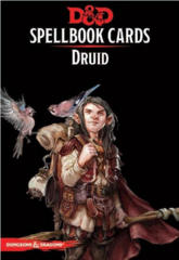 Dungeons & Dragons 5th Edition Spellbook Cards: Druid