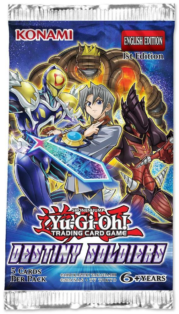 Yu-Gi-Oh Destiny Soldiers Booster Pack