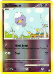 Drifloon - 92/146 - Common - Reverse Holo