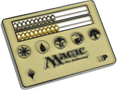 Ultra Pro Card Size White Abacus Life Counter for Magic: The Gathering