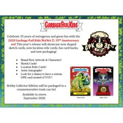 2020 Garbage Pail Kids Series 2 35th Anniversary COLLECTOR EDITION Box
