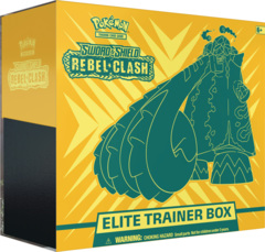 Pokemon Sword & Shield SWSH2 Rebel Clash Elite Trainer Box