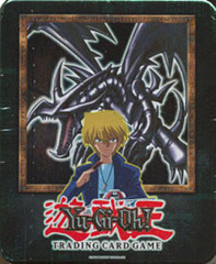 Yu-Gi-Oh 2002 Red Eyes Black Dragon Collectors Tin with 5 Packs and BPT-005 Card