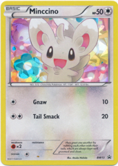 Minccino BW13 Cracked Ice Holo Promo - Emerging Powers Blister Exclusive