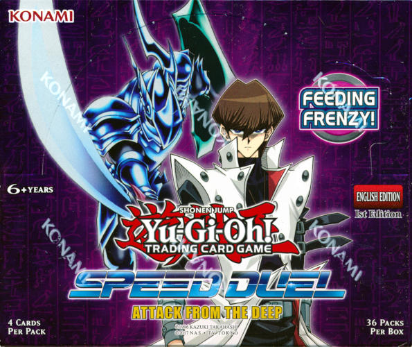 Yu-Gi-Oh Speed Duel: Attack from the Deep 1st Edition Booster Box -- LIMIT 12