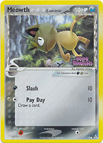 Meowth - 71/110 - Common - Reverse Holo