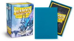 Dragon Shield Matte Standard-Size Sleeves - Petrol - 100ct