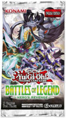 Yu-Gi-Oh Battles of Legend: Hero's Revenge 1st Edition Booster Pack