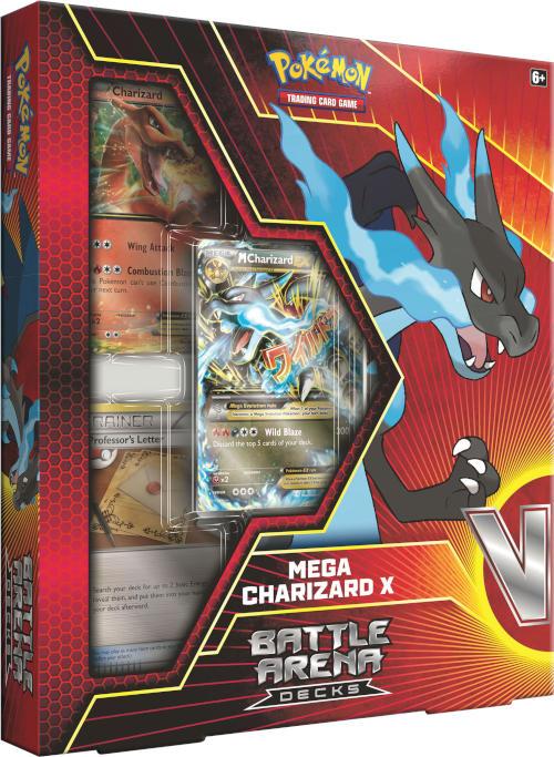 pokemon battle arena decks mega charizard x pokemon sealed