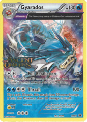 Gyarados XY60 Sheen Holo Promo - Ancient Origins Prerelease