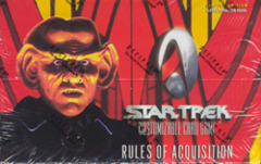 Star Trek CCG Rules of Acquisition Booster Box