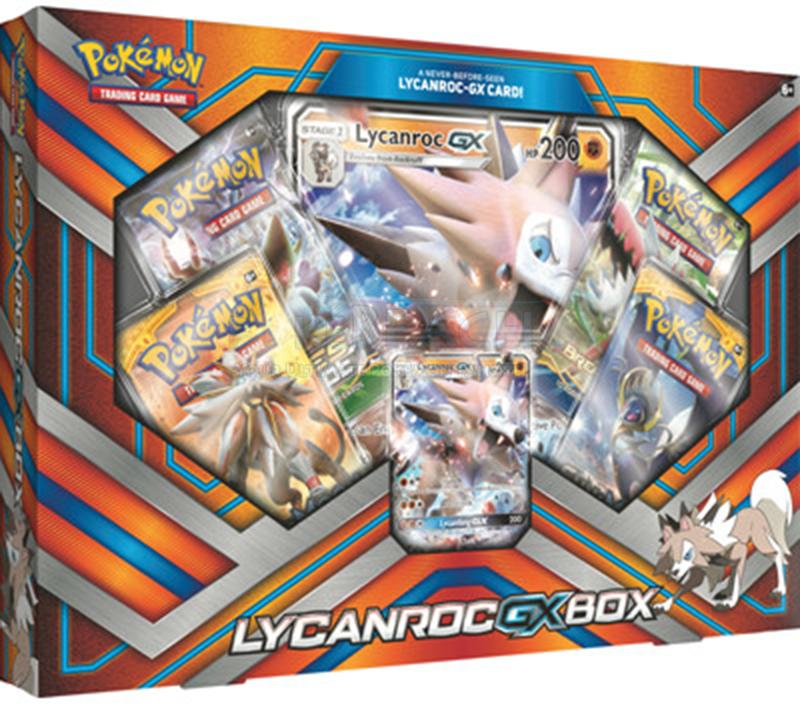 Pokemon Lycanroc GX Collection Box