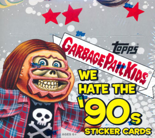 Topps Garbage Pail Kids Trading Cards Series 4 Wax Booster Pack