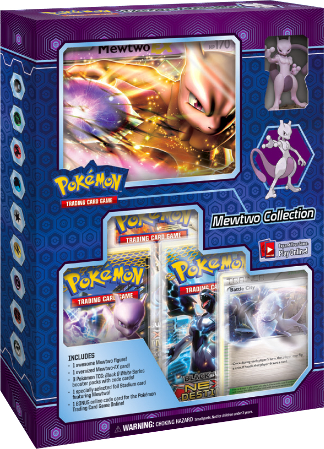 Pokemon 2012 Mewtwo Collection Box - Pokemon Sealed Products