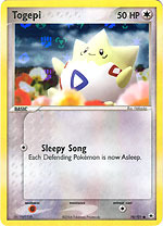 Togepi - 78/101 - Common - Reverse Holo