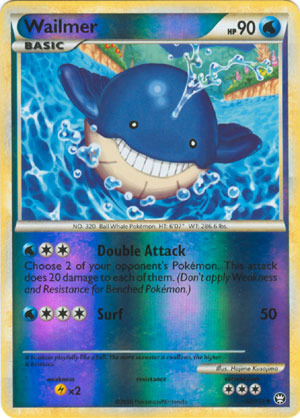 Wailmer 83 Sandstorm Common Pokemon Card Near Mint