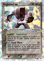 Registeel EX 99/101 - Holo Rare