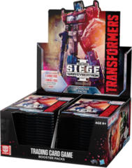 Transformers TCG: War for Cybertron Siege 1 Booster Box
