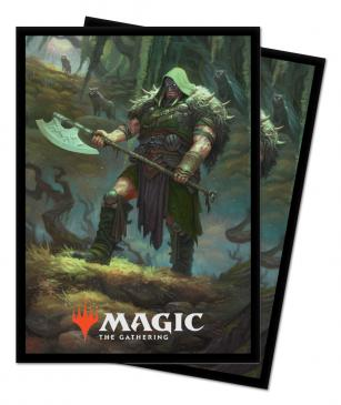 Ultra Pro Standard Size MTG Throne of Eldraine Sleeves - Garruk, Cursed Huntsman - 100ct