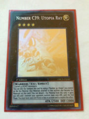 Number C39: Utopia Ray - ORCS-EN040 - Ghost Rare - 1st Edition