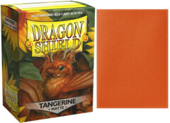 Dragon Shield Matte Standard-Size Sleeves -  Tangerine - 100ct