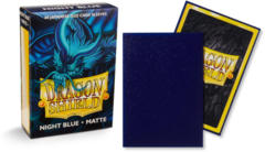 Dragon Shield Matte Japanese Mini-Size Sleeves - Night Blue - 60ct