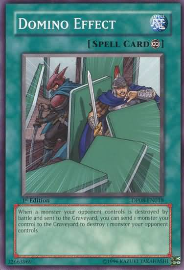 Domino Effect - DP08-EN018 - Common - 1st Edition - Yu-Gi-Oh
