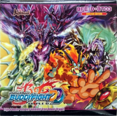 Buddyfight BFE-D-BT03 Annihilate! Great Demonic Dragon!! Booster Box