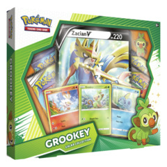 Pokemon Galar Collection Box - Grookey with Zacian