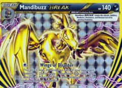 Mandibuzz BREAK XY182 Holo Promo - Arcanine Break Evolution Box Exclusive