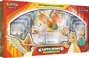 Pokemon Kanto Power Collection Box - Dragonite-EX