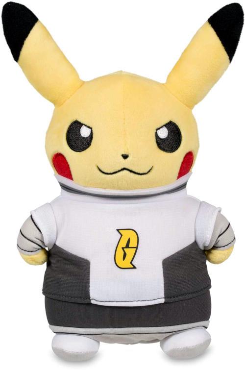 Japanese Pokemon Center Pikachu Team Galactic Costume Plush