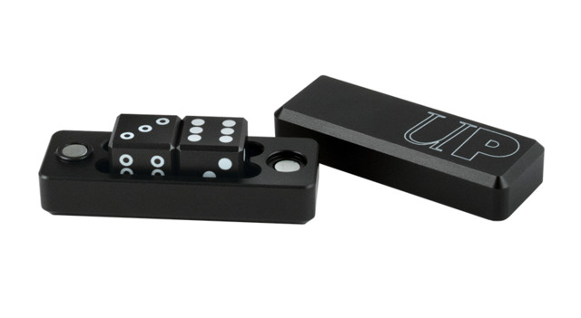 Ultra Pro Black Gravity Dice - 2 Dice Set