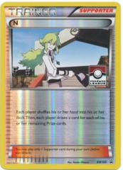 N BW100 Reverse Holo Promo - 2014 Pokemon League