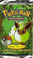 Pokemon Jungle Unlimited Edition Booster Pack - Flareon Artwork