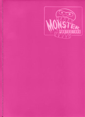 Monster Protectors 9-Pocket Binder - Matte Hot Pink