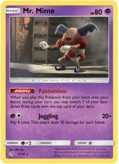 Mr. Mime - 11/18 - Holo Rare