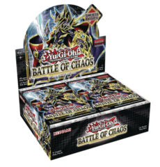 Yu-Gi-Oh Battle of Chaos 1st Edition Booster Box