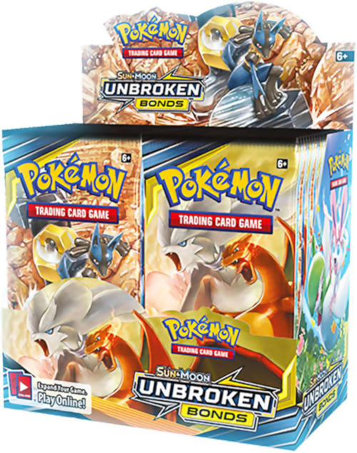 Pokemon Booster CASE (6 Sealed Booster