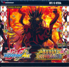 Buddyfight Ace BFE-S-BT01A Buddy Lineage Alternative Booster Box