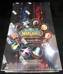 2013 WOW Class Starter Decks Display Box World of Warcraft