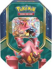 Pokemon Battle Heart Tin: Volcanion EX