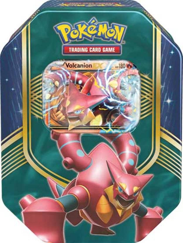 Pokemon Battle Heart Tin: Volcanion EX