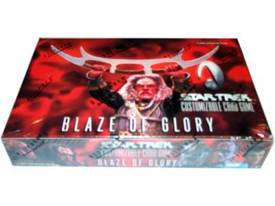 Star Trek CCG Blaze of Glory Booster Box
