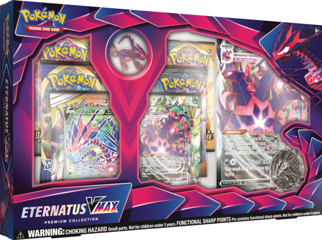 Pokemon Eternatus VMAX Premium Collection Box